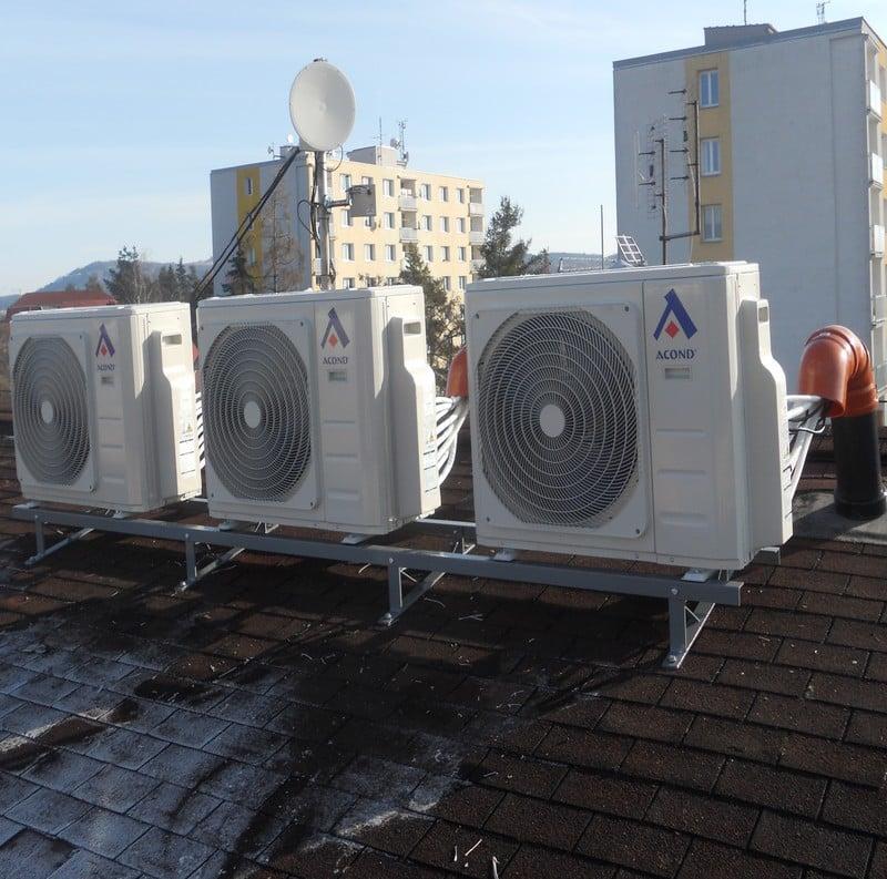 Venkovní jednotky klimatizace