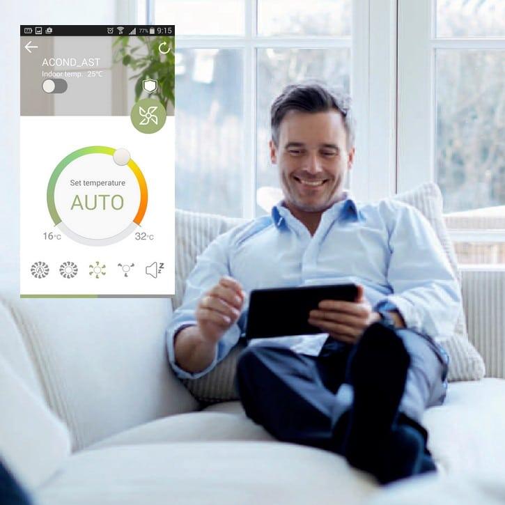 Ovládání klimatizace přes WiFi